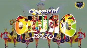 Alistan presentación del Carnaval de Oruro 2020