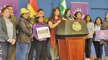 Incrementan recursos para lucha contra la violencia hacia las mujeres