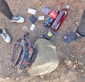 Decomisan botellas de  trago en el Distrito 9