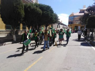 Patzi estuvo ausente de la presentación de candidatos en Potosí