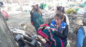 Abandonan a una bebé recién nacida en un basurero en Quillacollo