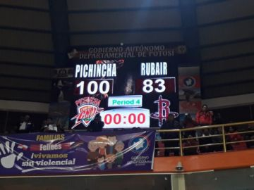 Pichincha vuelve a ganar con tres dígitos: 100-83