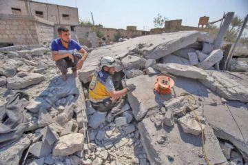 Bombardeos provocan 12 fallecidos