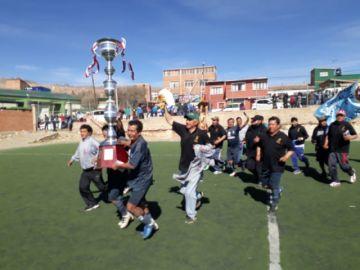 Aduana Delicias e Icap son campeones del torneo de la Mutual