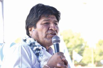 Evo pide asegurar cuarto senador  en Cochabamba