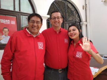 Óscar Ortiz afirma que Marco Pumari trabaja en la campaña de Carlos Mesa