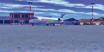Evo anuncia ampliación  de la terminal aérea de Uyuni por más vuelos