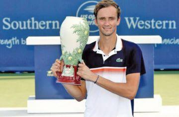 Medvedev logra el título en el Masters 1.000 de Cincinnati