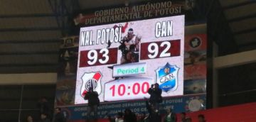 Nacional gana 93 contra 92 a CAN
