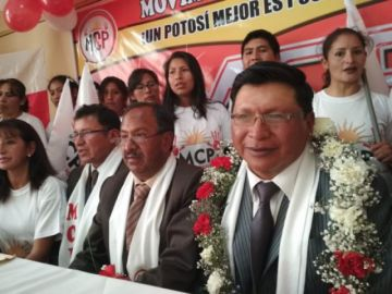 Expresidente cívico presenta personería y será candidato a la Alcaldía