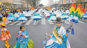 Argentina tendrá entrada folclórica de integración