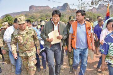 Un indígena plantea juicio a Evo por violación a derechos de la naturaleza