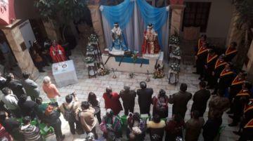La imagen de San Bartolomé ya está en la Gobernación