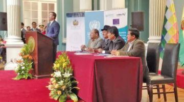 Extensión de cultivos de hoja de coca en Bolivia se redujo en 6 %