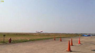 Urgente: El SuperTanker comienza a operar y parte hacia Taperas (fotos y video)