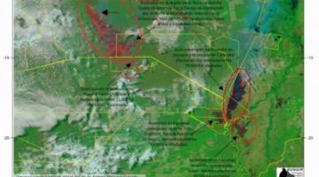Fuego afectó más de 370.000 ha en el Norte del Chaco y Chaco Pantanal