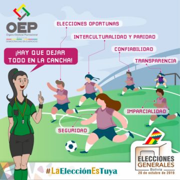 Conoce las 12 principales funciones del Órgano Electoral durante las Elecciones Generales del 20 de octubre
