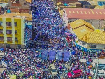 Evo dice que Potosí será centro de la industrialización del litio