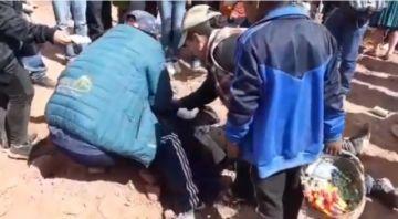 Reportan posibles heridas en jinete y caballo en romería a La Puerta