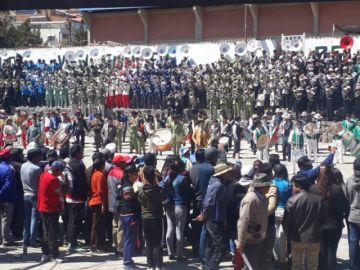 Se realizó el cuarto festival de bandas en Potosí