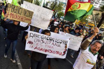 En todo el país exigen eliminar el decreto que autoriza la quema