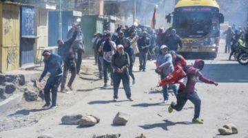 Hay 12 detenidos por los destrozos a PumaKatari y Alcaldía alista querella