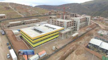 Avance del nuevo hospital de tercer nivel llega al 41 %