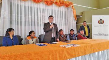 Implementan cámara Gesell en el municipio de Llallagua