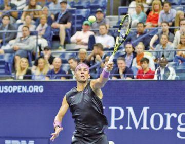 Rafael Nadal avanza en el US Open