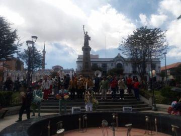 Bandas de música se solidarizan con la campaña por la Chiquitanía