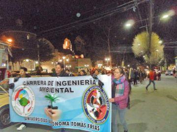 Marcha por la Chiquitanía demanda acciones para proteger la naturaleza