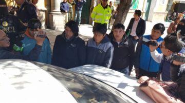 Caen cinco presuntos cogoteros que causaban pánico en la ciudad de Potosí