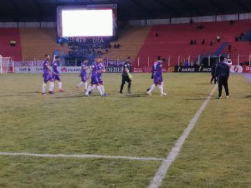 Acabó el partido con empate 1 a 1 entre Real y Aurora