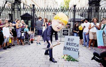 El Reino Unido, en crisis por cierre de Parlamento