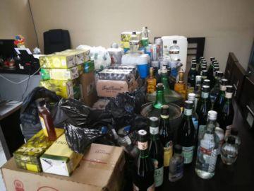 Tras dos allanamientos, incautan bebidas alcohólicas sin registro sanitario
