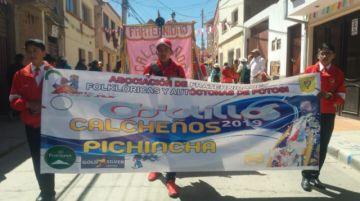 Potosí vive la entrada de Ch'utillos 2019