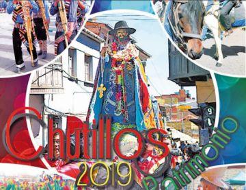 El Potosí presenta  revista de Ch'utillos