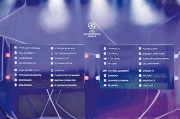 La Liga de Campeones define los grupos de la temporada 2019-2020