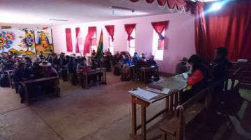 Instalan mesas de trabajo para solucionar el conflicto en Pocoata