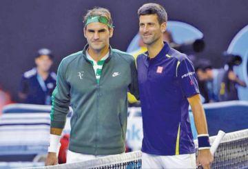 Djokovic y Federer se exhiben en el Abierto de Estados Unidos