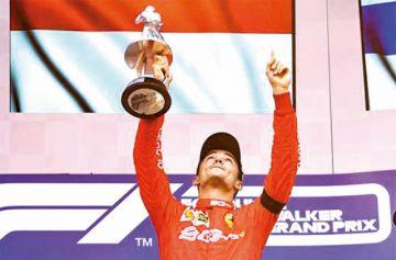 Leclerc gana el Gran Premio de Bélgica