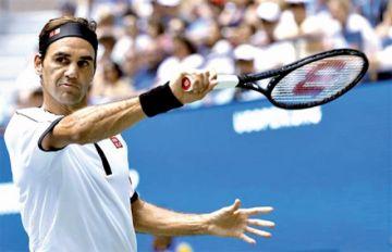 Federer gana a Goffin y pasa a cuartos de final