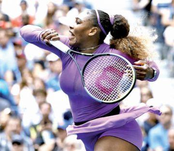 Serena Williams vence a Petra Martic en el Abierto de EE.UU.