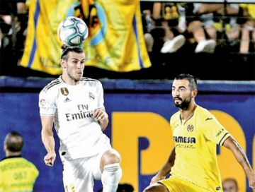 "Bale evita la derrota del Madrid en ""La Cerámica"""