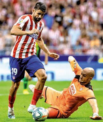 Atlético se adueña del liderato de LaLiga