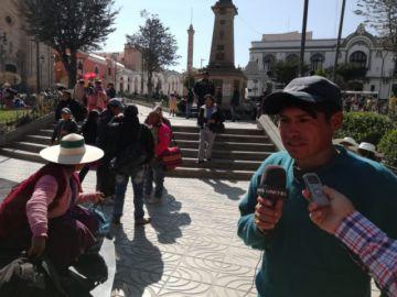 Pobladores de Pocoata prevén enfrentamientos
