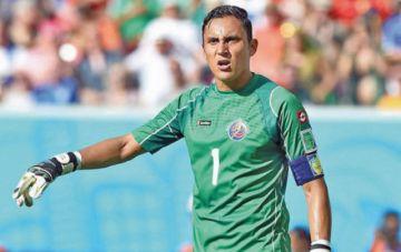 Navas llega a Costa Rica y completa la selección que enfrentará a Uruguay
