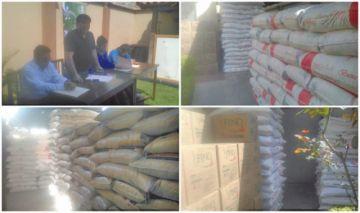 Sedeges entrega alimentos a internados de cinco municipios del norte
