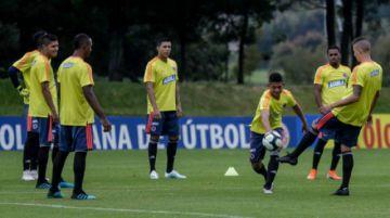Las selecciones Sub'23 de Brasil y Colombia miden fuerzas