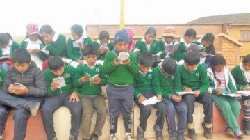 Aplican prueba a estudiantes de tercero y sexto de primaria en Potosí